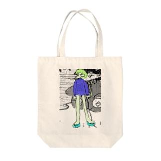 反転の人生 Tote bags