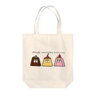 デザート/モンスター Tote bags