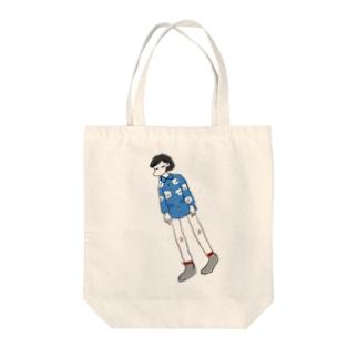 オーバードーズ Tote bags