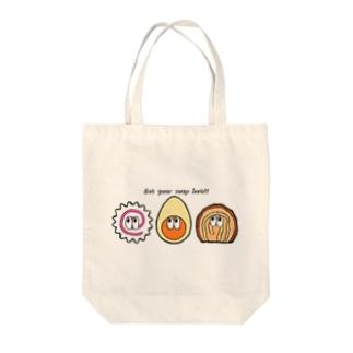 ラーメン/モンスター Tote bags