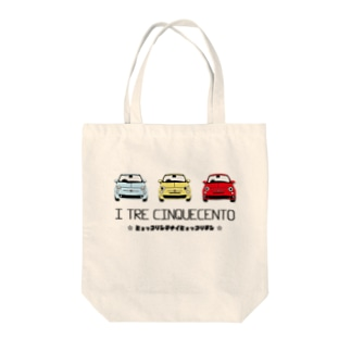 I TRE CINQUECENTO Tote bags