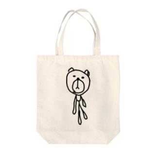 きょうはくまのちょうしがいい Tote bags