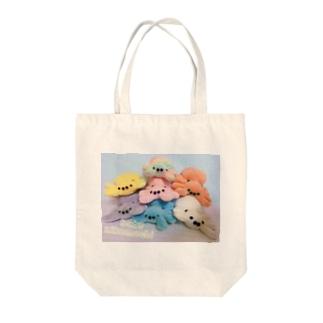 カラフルなハエトリグモの赤ちゃんたち Tote bags