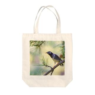 松葉と椋鳥 Tote bags