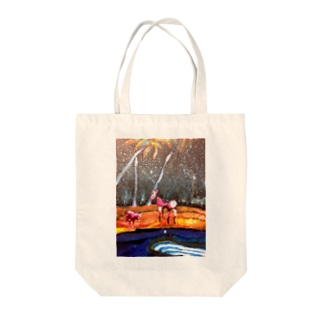 びふぉー Tote bags