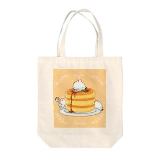 雷鳥さんパンケーキ Tote bags