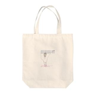 へるぷ Tote bags