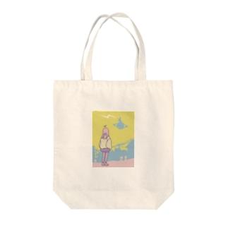 プラネット* Tote bags