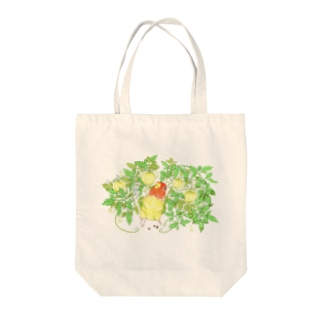 【コザクラインコ】9月のオピーチョ Tote bags