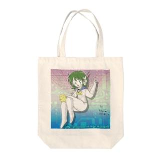 サイバーka子 Tote bags