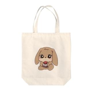 将軍のウサギ「昭恵ちゃん」 Tote bags