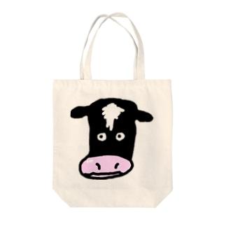 みのちゃんcow Tote bags
