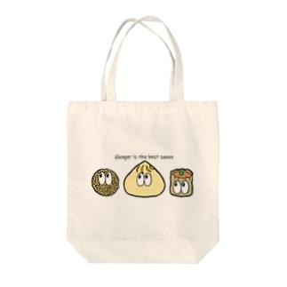 中華/モンスター Tote bags