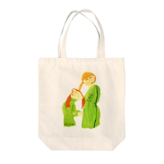 春を待っているよ Tote bags
