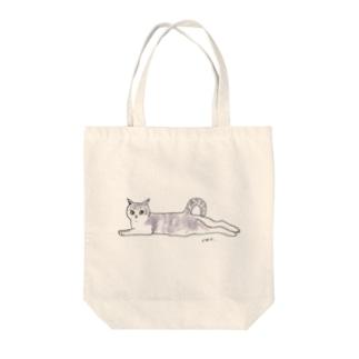 100nyans016.musashinocat(mu) Tote bags