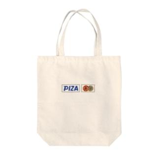 PIZA Tote bags