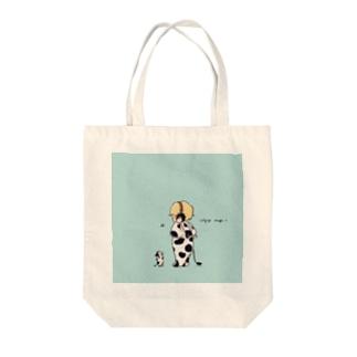 cozy boy Tote bags