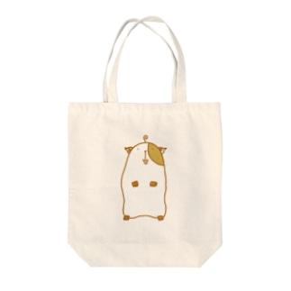 モルモットさん Tote bags