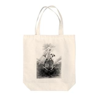 ヤノベケンジ《トらやんの大冒険》(太陽の復活) Tote bags