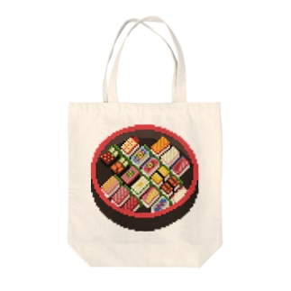 寿司のドット絵 Tote Bag