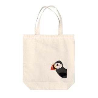 ぱふぃんさん Tote bags
