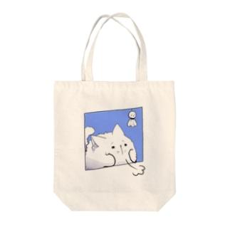 ため息 Tote bags