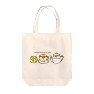 紅茶/モンスター Tote bags