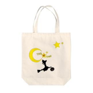 魔法使いのハロウィン Tote bags