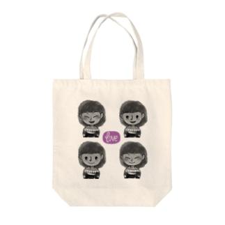 リブログ公式ショップのいろいろノビィ Tote bags