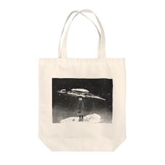 さんま Tote bags