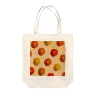 マンダリンオレンジ! Tote bags