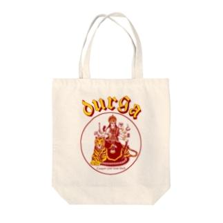 DURGA 赤×黄色(ズレ) Tote bags