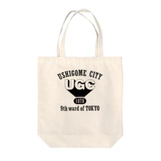UGCロゴ Tote bags