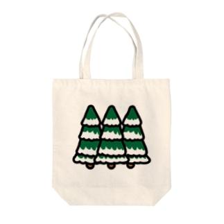 クリスマス もみの木 Tote bags