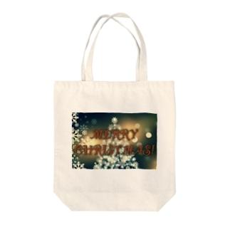 シックなクリスマス🎄 Tote bags