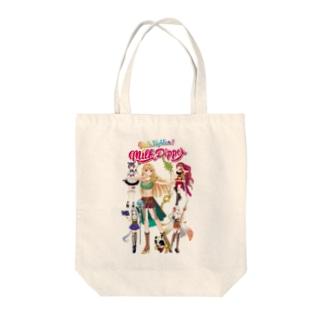 ガールズファイター!ミルクディッパー☆06☆Hitomi Tote bags