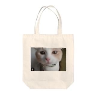 てんしちくわ Tote bags