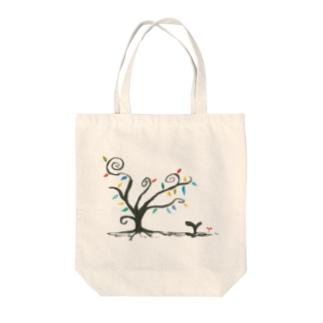 彩の樹 Tote bags