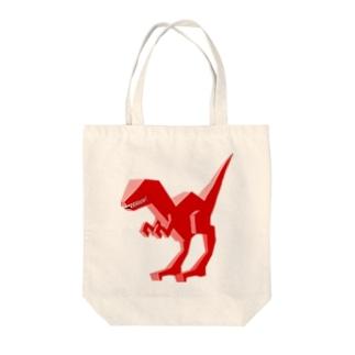 DinoCube02 Tote bags