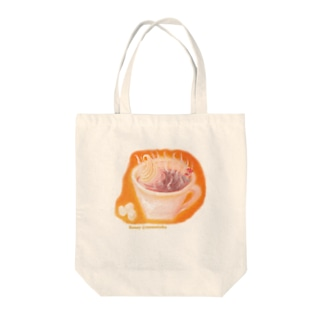 ココア風呂 Tote bags
