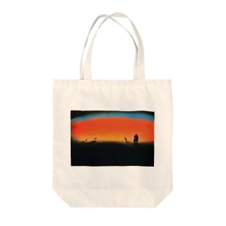 ごはんのじかん Tote bags