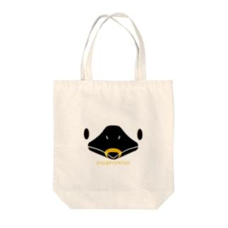 ヒシクイFace Tote bags