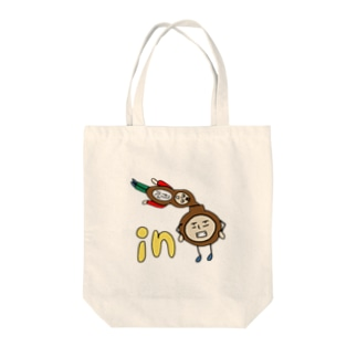 in ひょう太郎 Tote bags