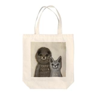 Rukko & Shinba Tote bags
