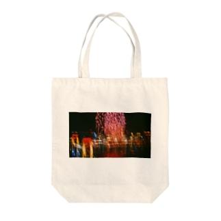お台場の絶景 Tote bags