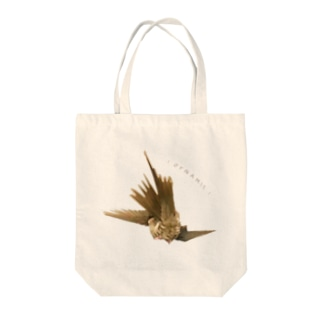 ダイナミックオカメ Tote bags