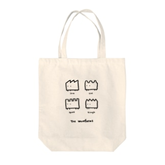 the waveforms Tote bags