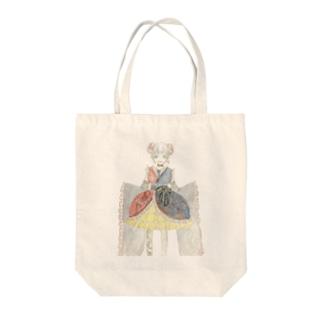梅蝶 Tote bags