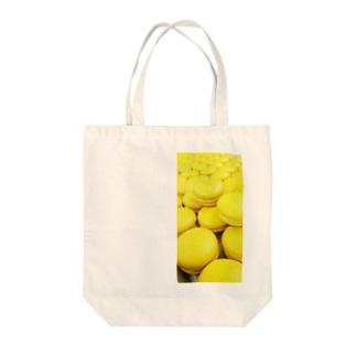 無限マカロン Tote bags