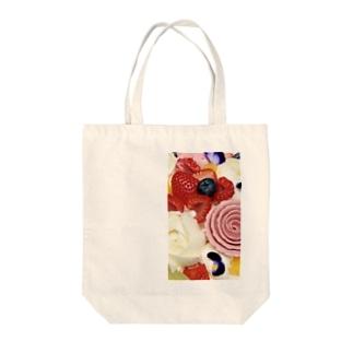 こぱの花とフルーツ Tote bags